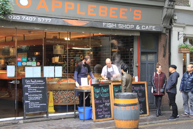 Image result for borough market Applebee's Fish